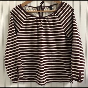 J Crew Breton Stripe Casual Top